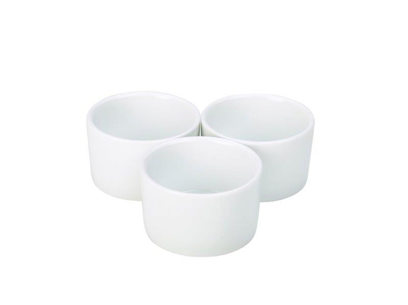 Genware Contemporary Smooth Ramekin 8cm