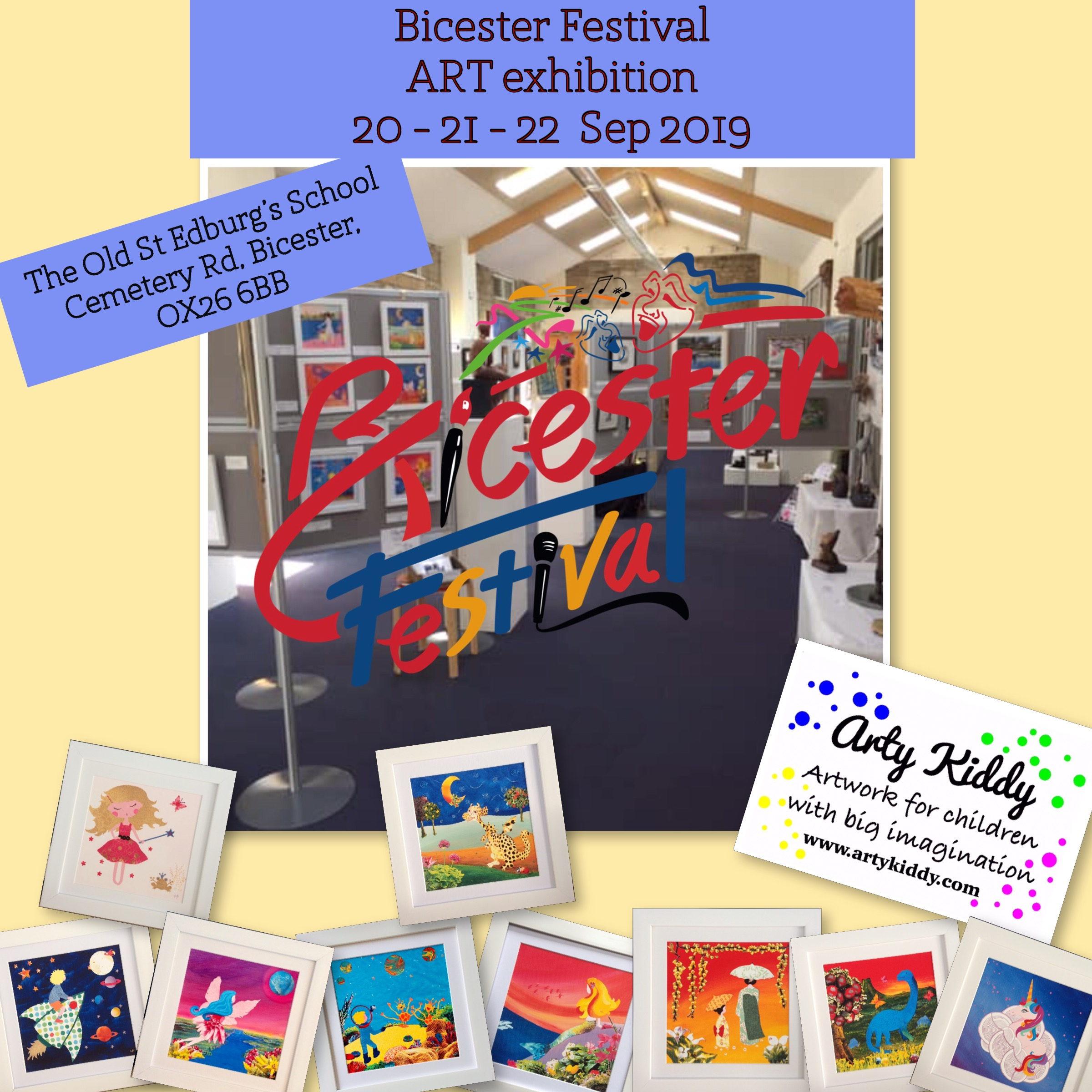 Bicester Festival - Art Exhibition 20-21-22 September 2019