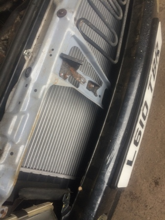 Audi Coupe 16 valve radiator