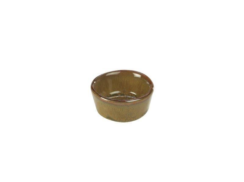Terra Stoneware Rustic Brown Ramekin 1.5oz/45ml