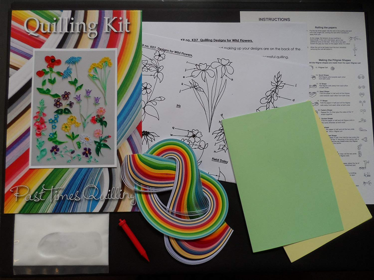Quilling Kit - Designs for Wild Flowers