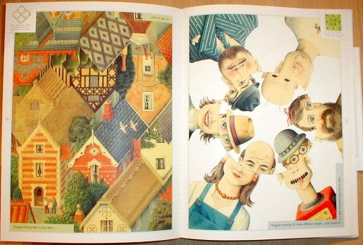 IMAGINE  Norman Messenger - quirky illustrated hardback