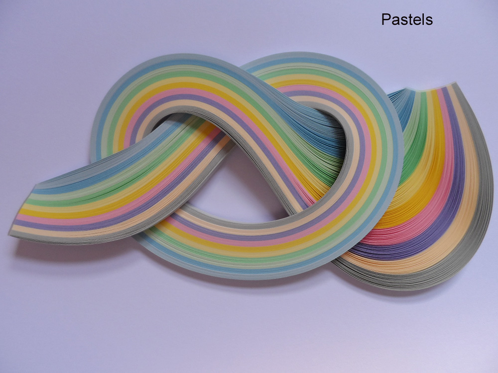Quilling Papers 3mm, Mixed Colour Bundles