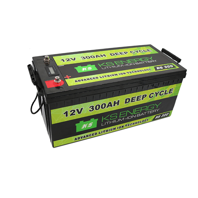 Model KS-300 12v 300AH LiFePo4 leisure battery