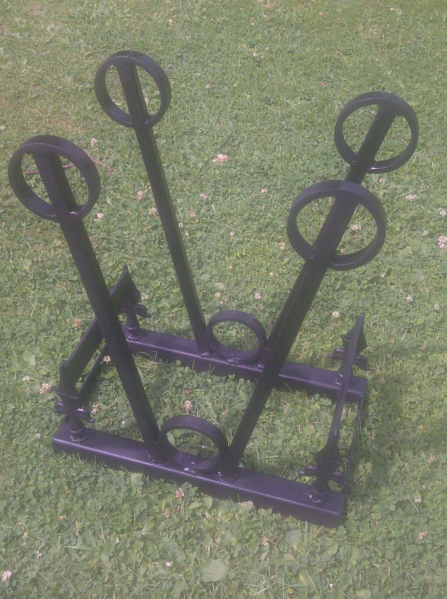 PDL 2 Pair Wellington Boot Stand 2 Boot scraper