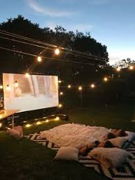 Outdoor Cinema Hire in Swansea