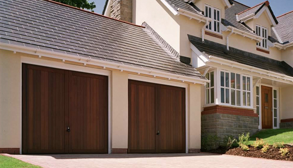Timber Garage Door Gallery - Garage Door Solutions ltd