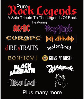Pure Legends Of Rock - Sat 22nd August 2020
