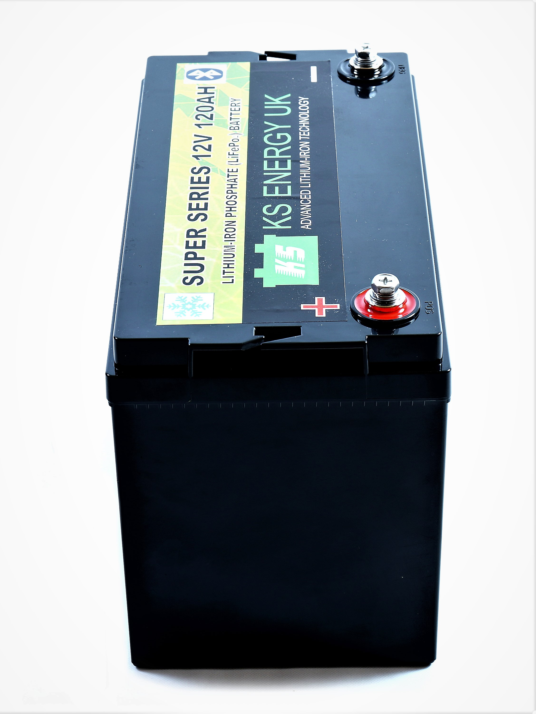 2): KS-LT120B 12v 120AH Bluetooth High Power LiFePo4 lithium leisure battery