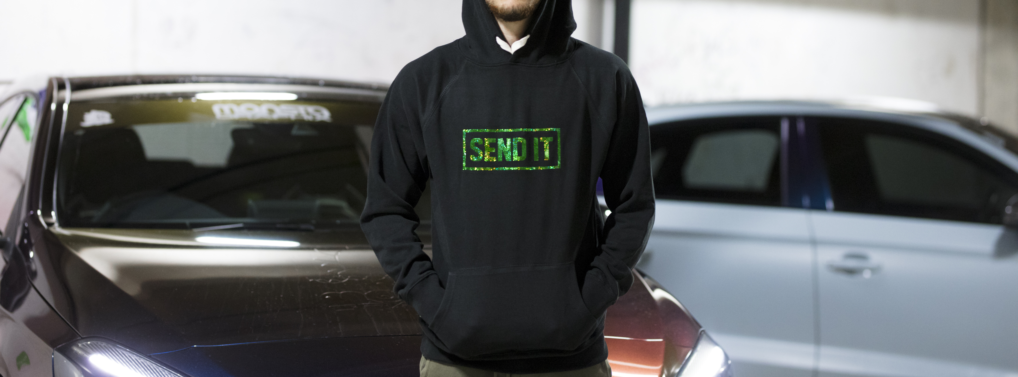 SEND IT - Monsta Motors Crewneck