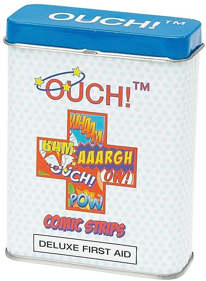 Ouch! Comic Strip Deluxe Plasters in Gift Tin