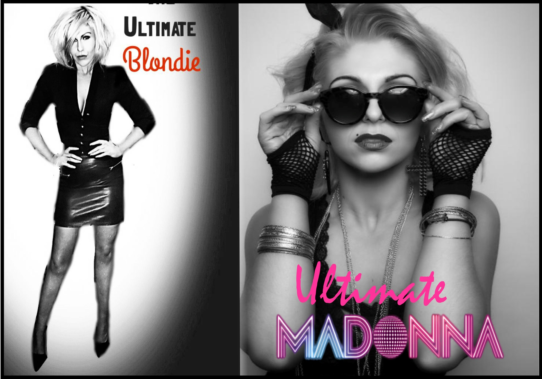 Blondie vs Madonna Sat 2nd May 2020