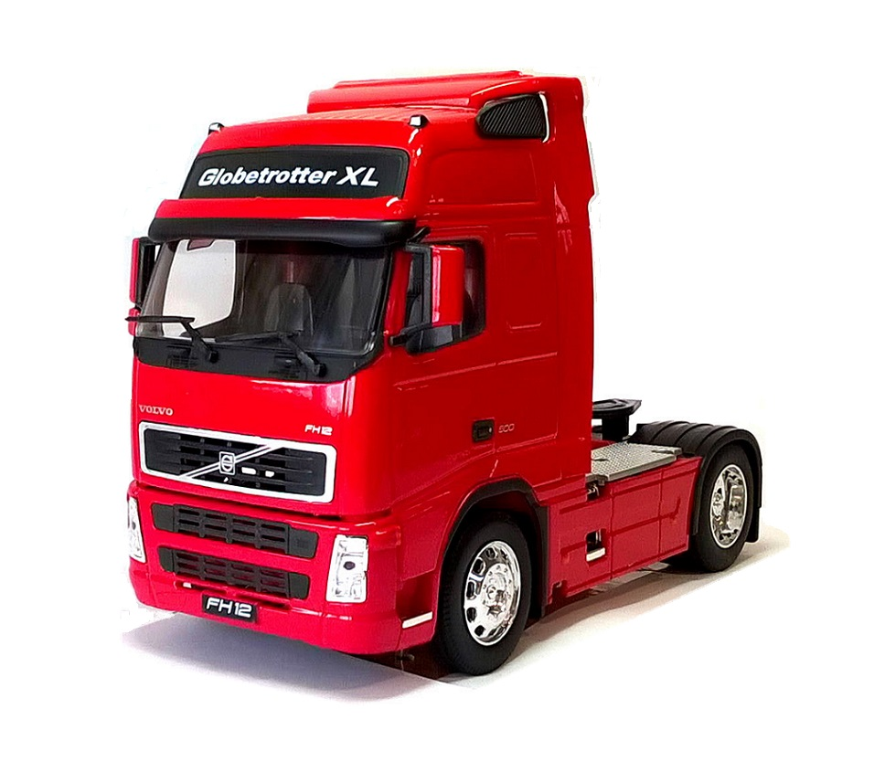 VOLVO FH12 500 4x2 CAB in Red - 1:32 Scale Die-Cast Truck Model by Welly