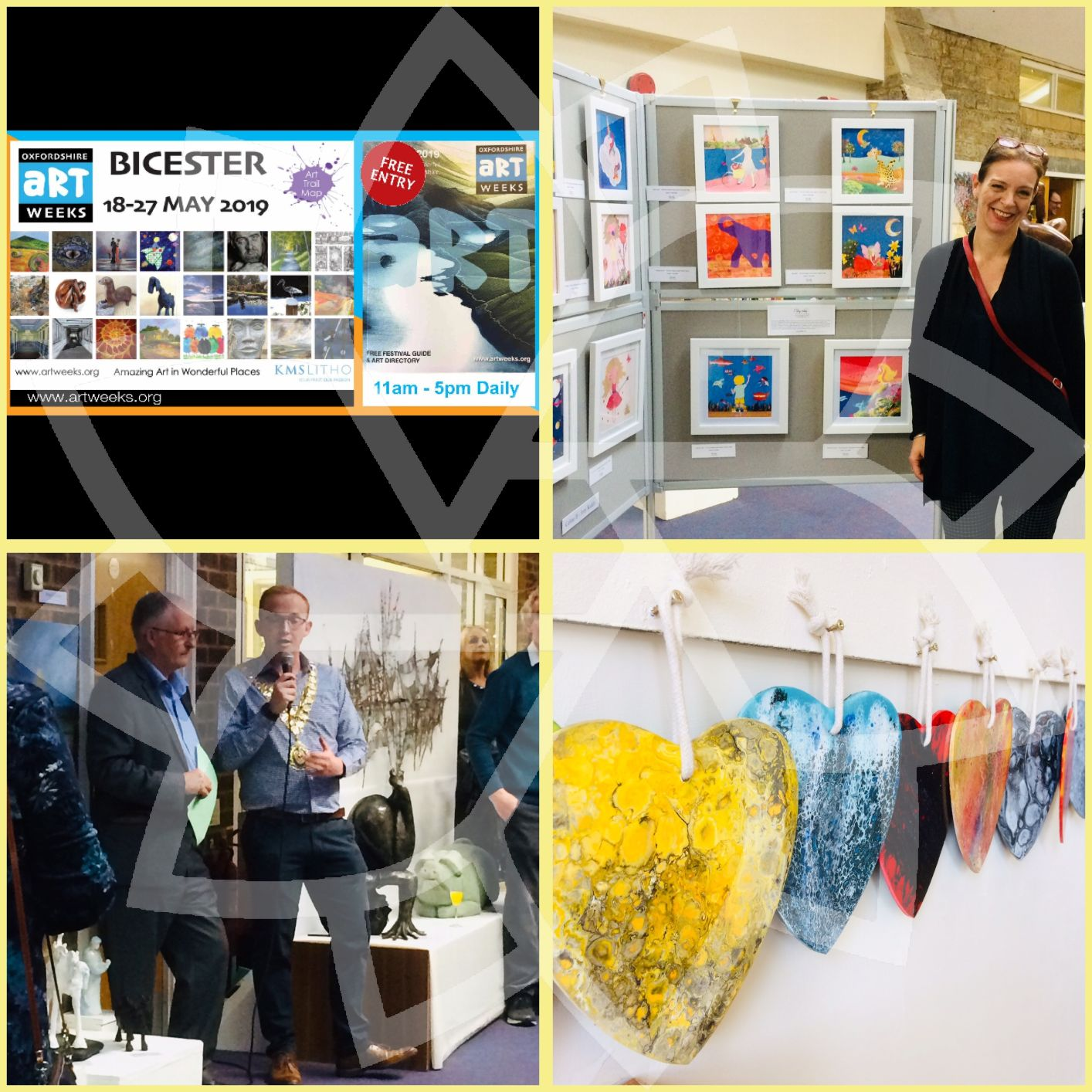 Oxfordshire Artweek in Bicester 18-27/05/19