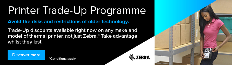 Zebra Trade-Up label printer promotion