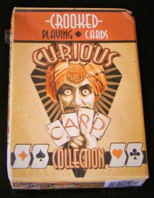 Novelty Crooked Cards - vintage House Of Marbles