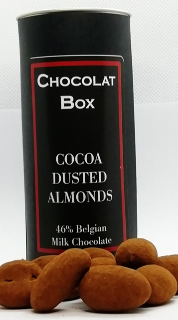 COCOA DUSTED ALMONDS