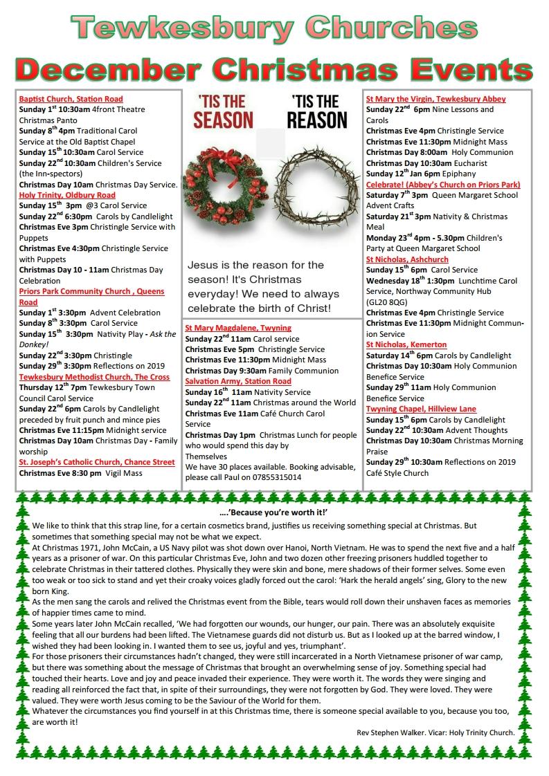 Christmas Tewkesbury Direct Advert 2019pub18935jpg