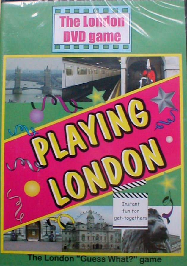 Playing London Interactive quiz DVD New and rare