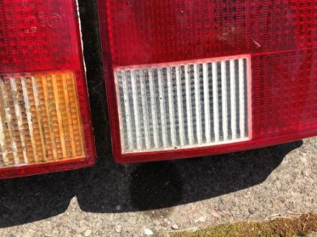 Audi 80 B3 rear lights