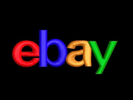 ebay logo embroidered embroidery service embroidered clothing