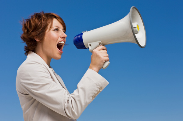 woman-with-a-megaphone-blueskyjpg