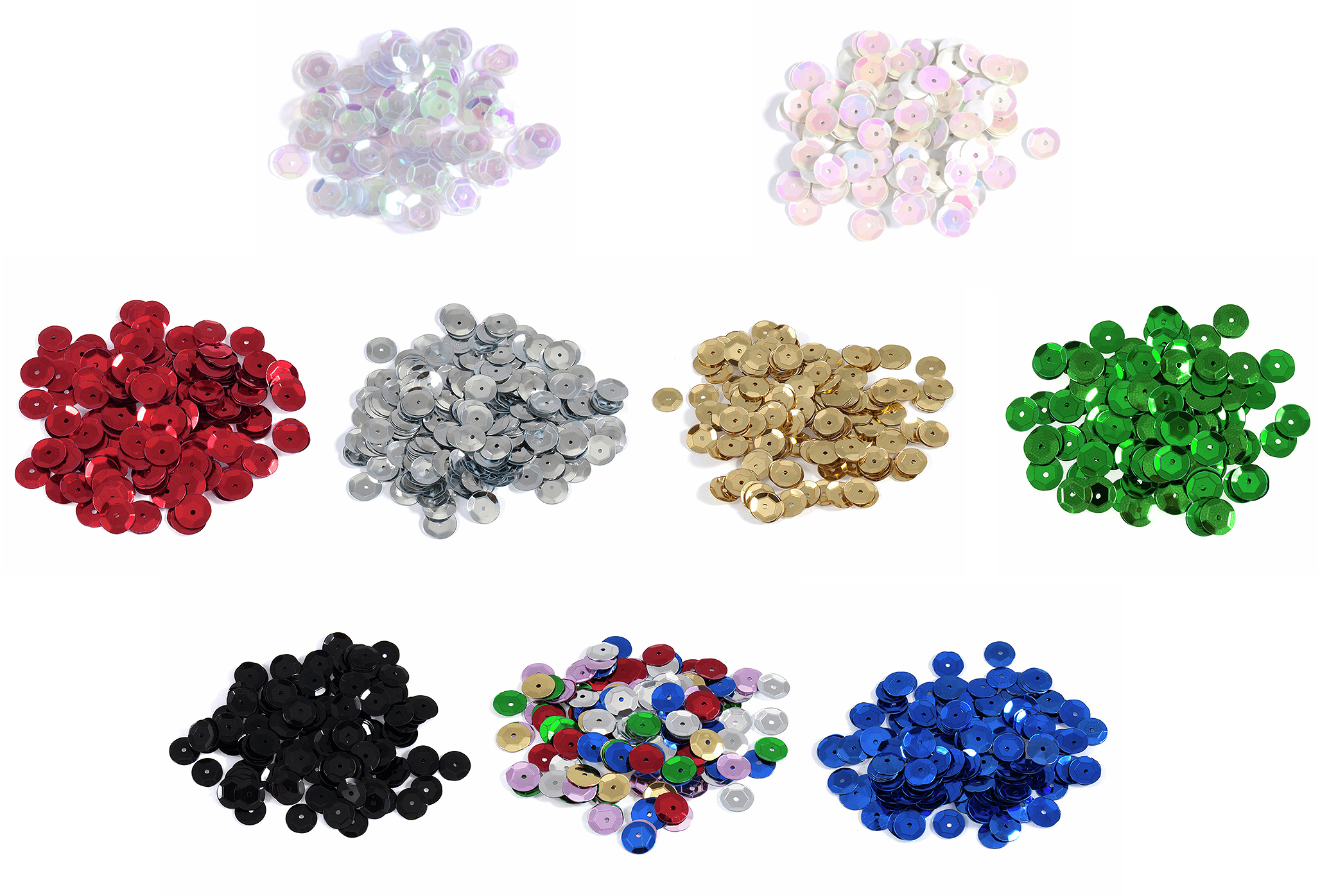 Trimits 8mm Cup Sequins, Large Pack