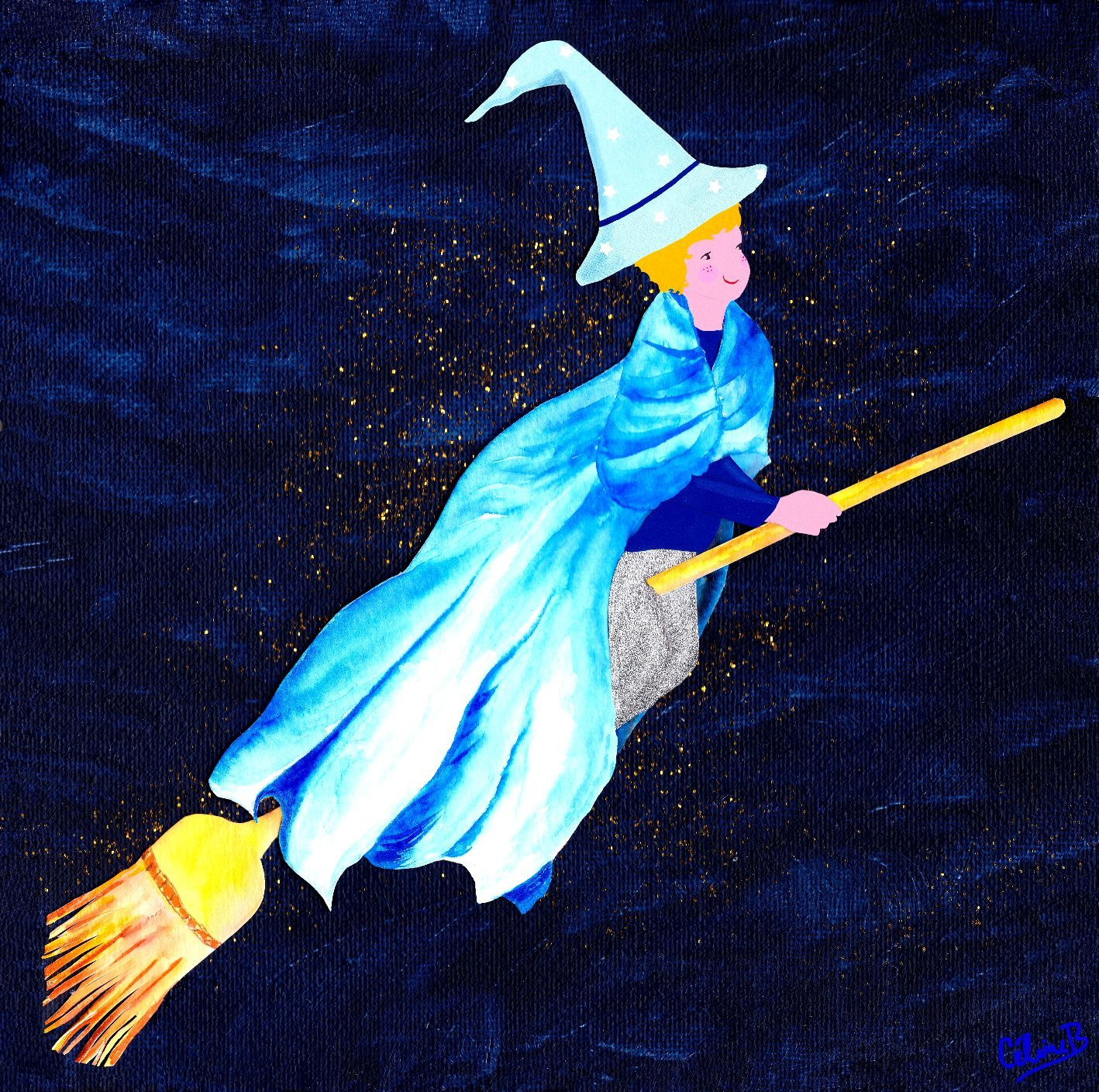 Little Blue Wizard