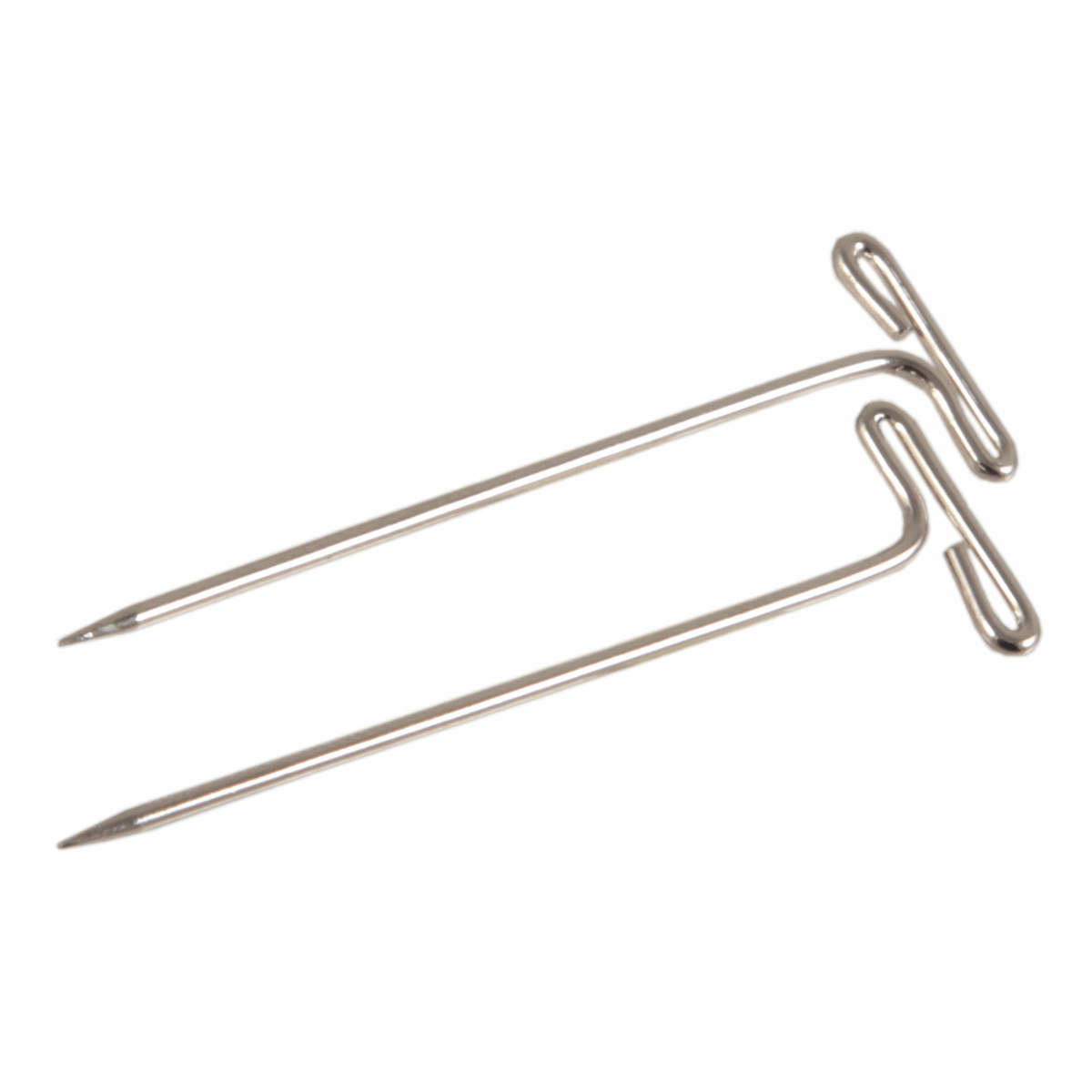 KnitPro T-Pins, 38mm, Pack of 50, Silver