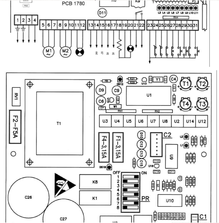gibidi pcb 1780b manual