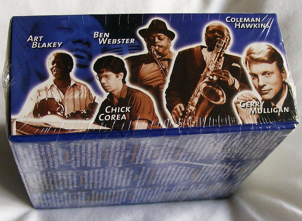 Legends of Jazz (20 CD Boxset) over 200 tracks original artists
