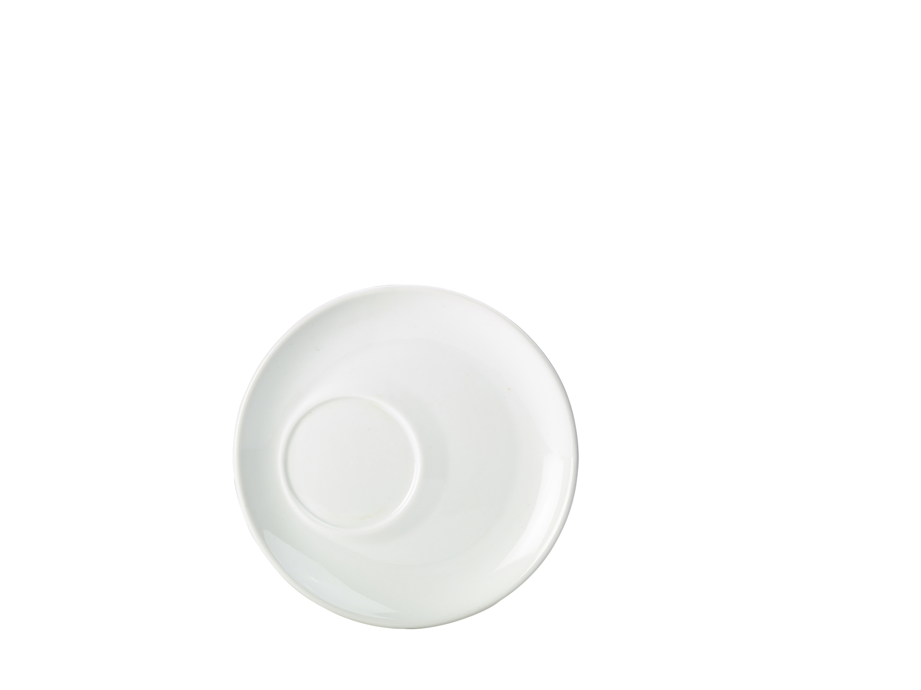 Offset Saucer For Cup 322140 Bowl Shape Cup