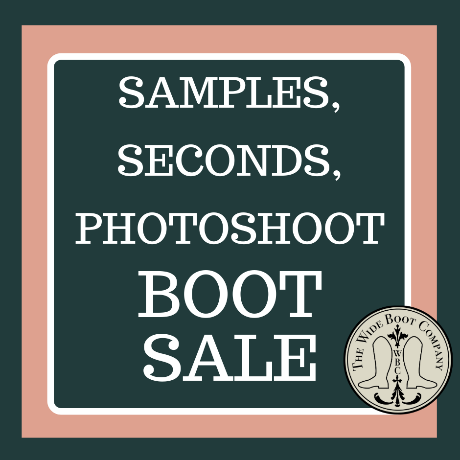 SECONDS/SAMPLES/PHOTOSHOOT SALE BOOTS