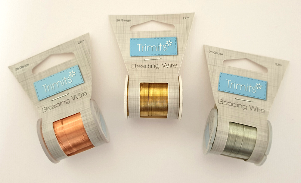 Beading Wire 28g, Reel of 22m
