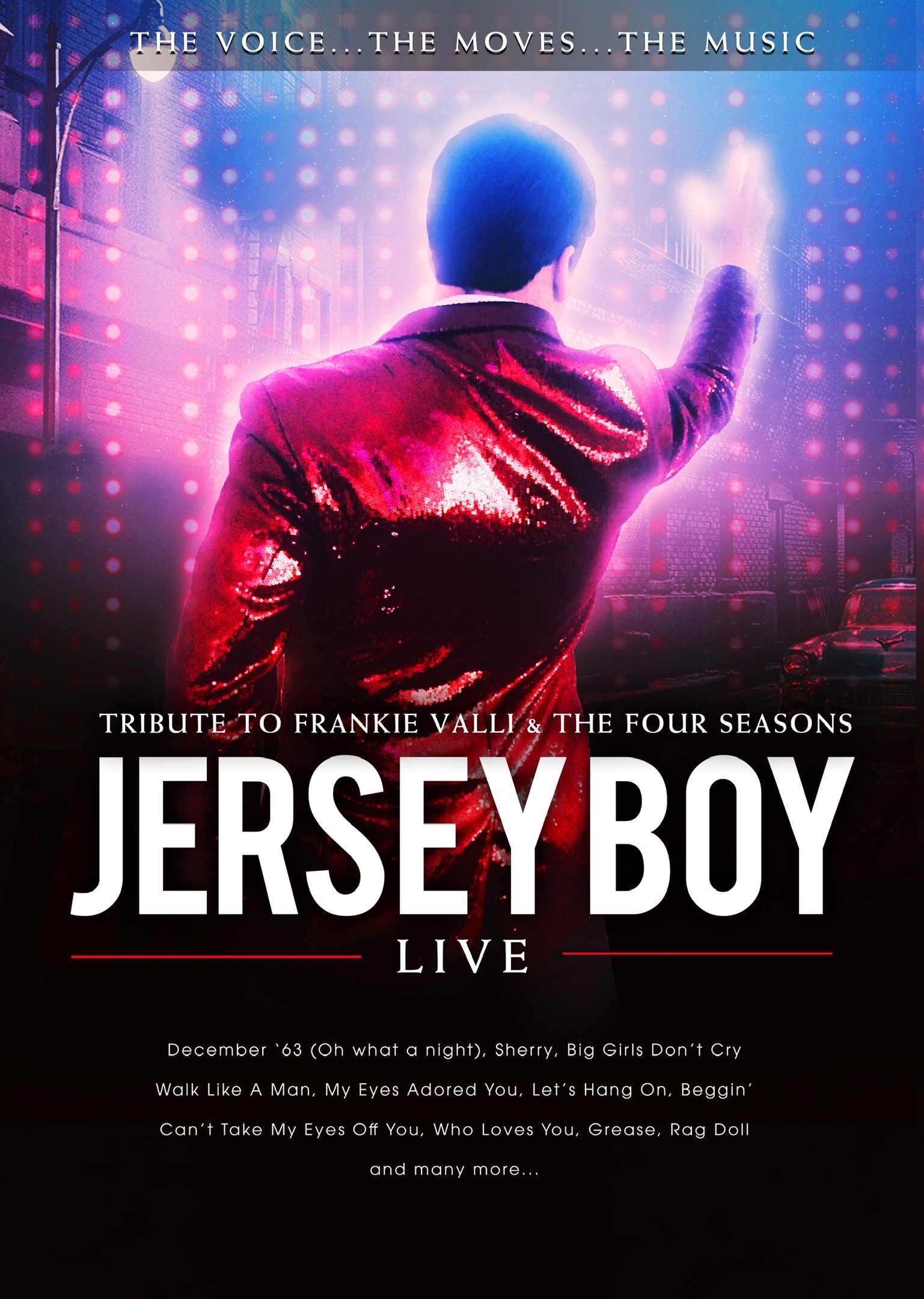 Jersey BOY Live (Solo Tribute) - Sat 15th August 2020