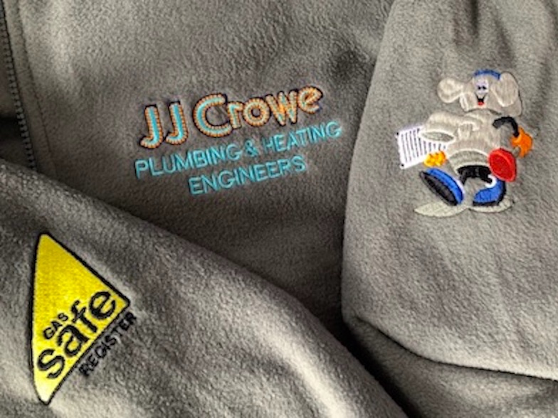 Gas safe embroidered & printed uniform workwear