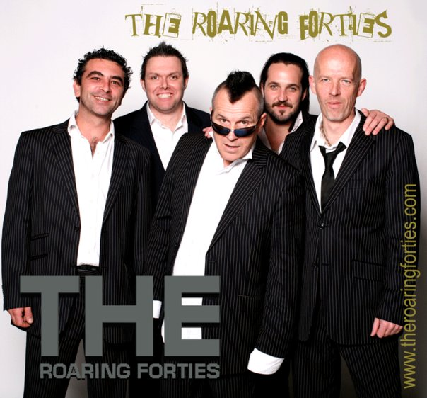 Wedding Band The Roaring Forties at short notice