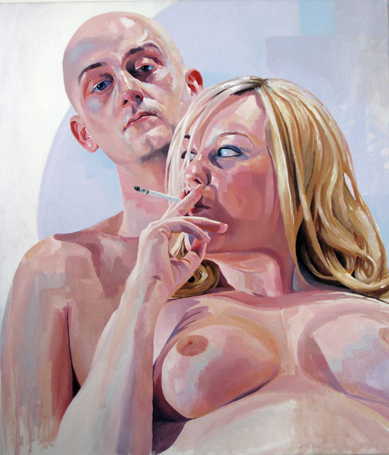 Oil on canvas  70 x 85 cm