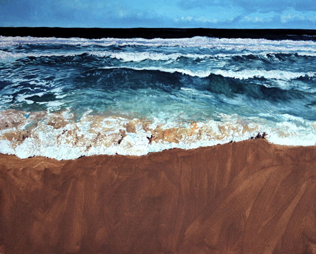 Sandwood Bay (2007) GBP 800 (sold)