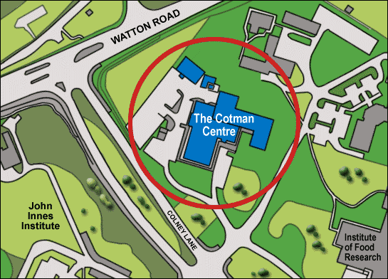 Cotman Centre Local Map