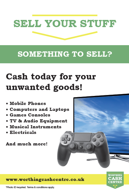 Worthing Cash Centre - Sell Your Stuff