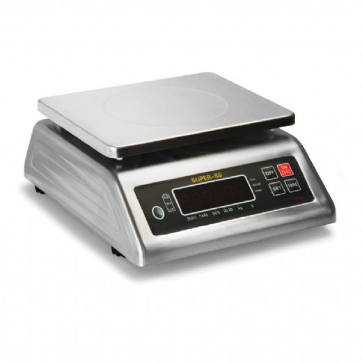 IP68 rated stainless steel bench or table top weighing scale from Proweight.