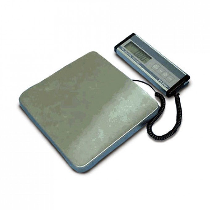 Floor or bench scale with remote indicator suitable for parcels from Proweight.