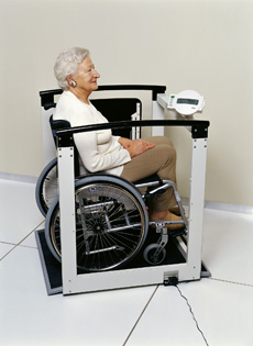 Proweight Digital Wheelchair Scale